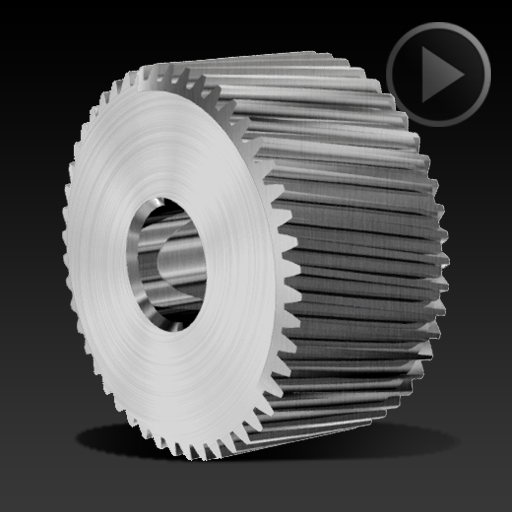 Helical Gear Ø15x8mm – 080
