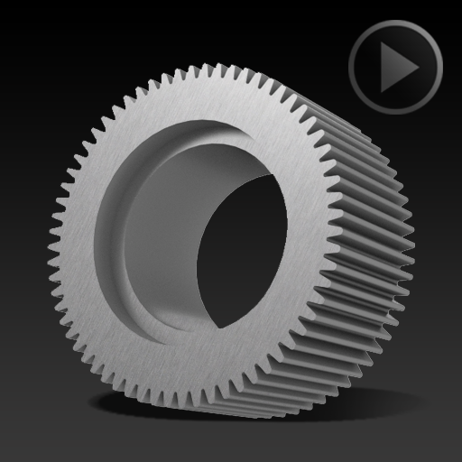 Spur Gear Ø20×9,6mm – 1346